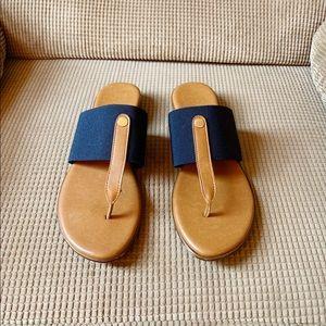 Italian Shoemakers Afia Women's Sandal - Navy Blue